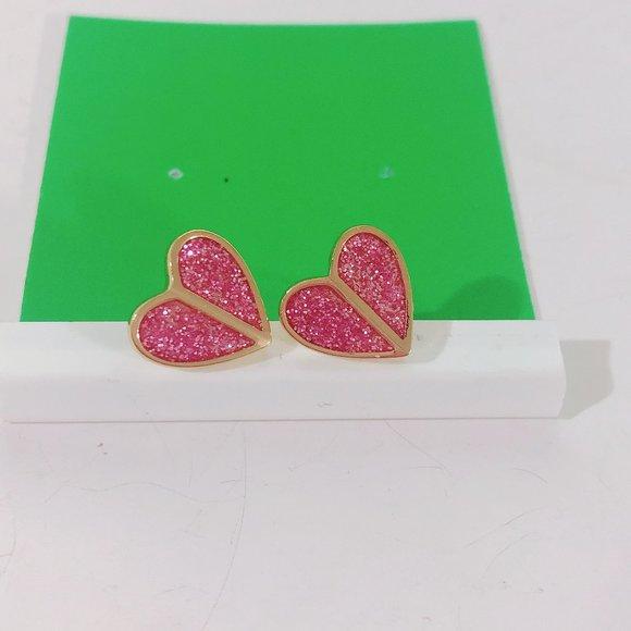 kate spade Jewelry - Kate Spade Butterfly Heart Earrings